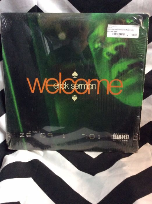 Erick Sermon Welcome feat Keith Murray 1995 1