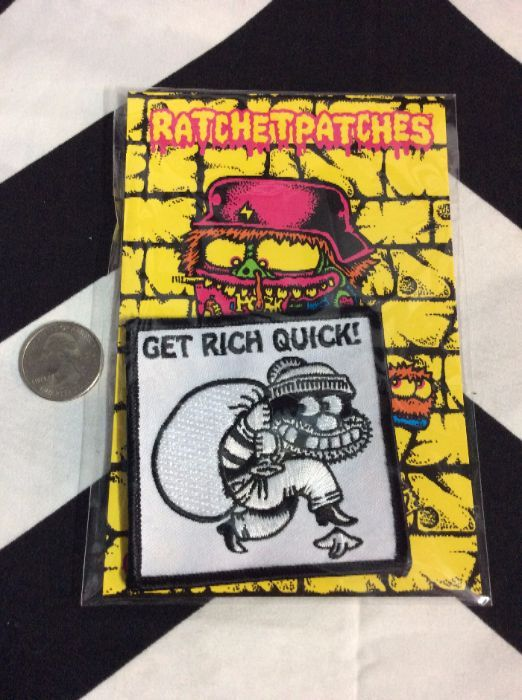 BW - PATCH - Get Rich Quick 1