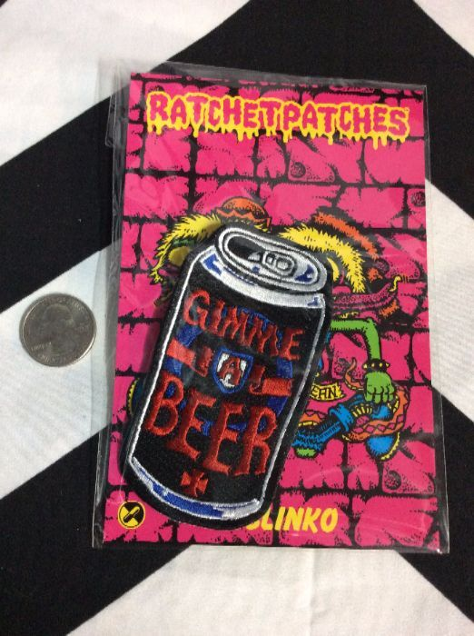 BW PATCH - Gimme A Beer 1