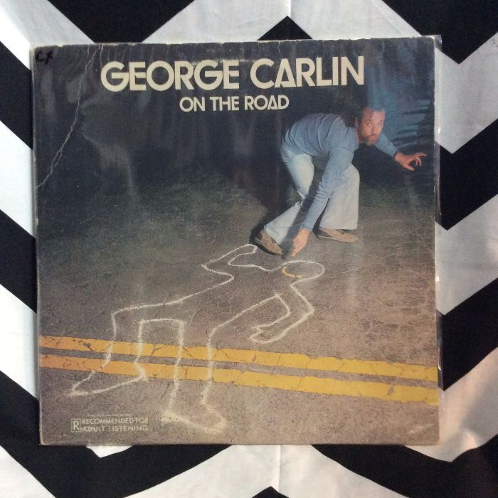George Carlin ?– On The Road *glossy 1