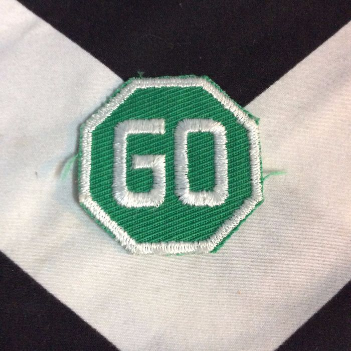 PATCH GO Sign green *old stock 1