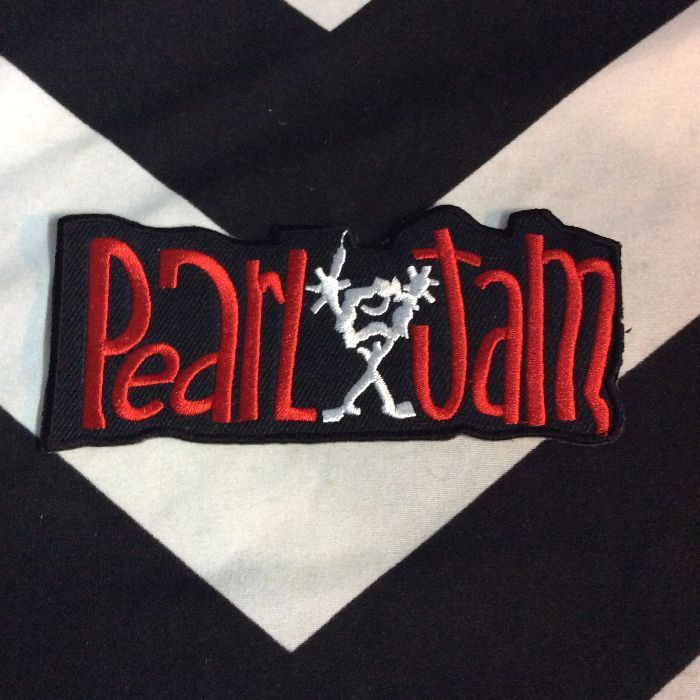 BW PATCH- PEARL JAM STICK FIGURE 1