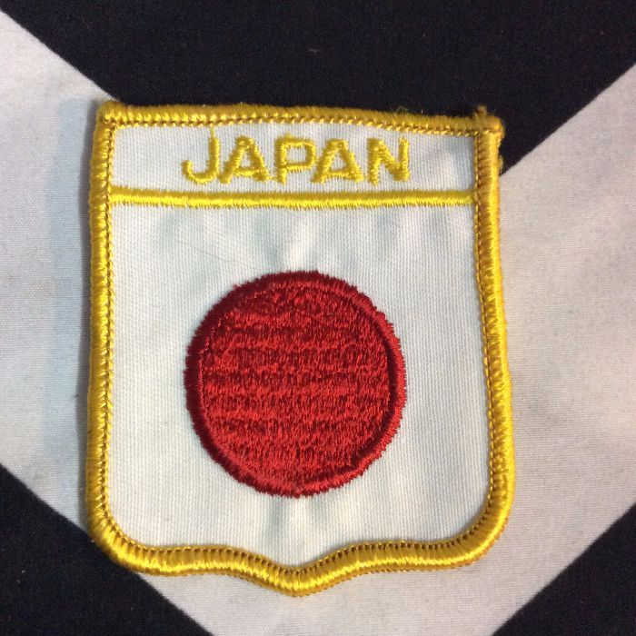 PATCH- JAPAN FLAG *DEADSTOCK 1