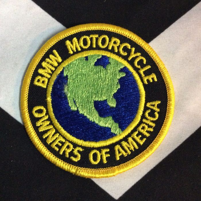 PATCH BMW MOTORCYCLE OWNERS OF AMERICA *deadstock 1