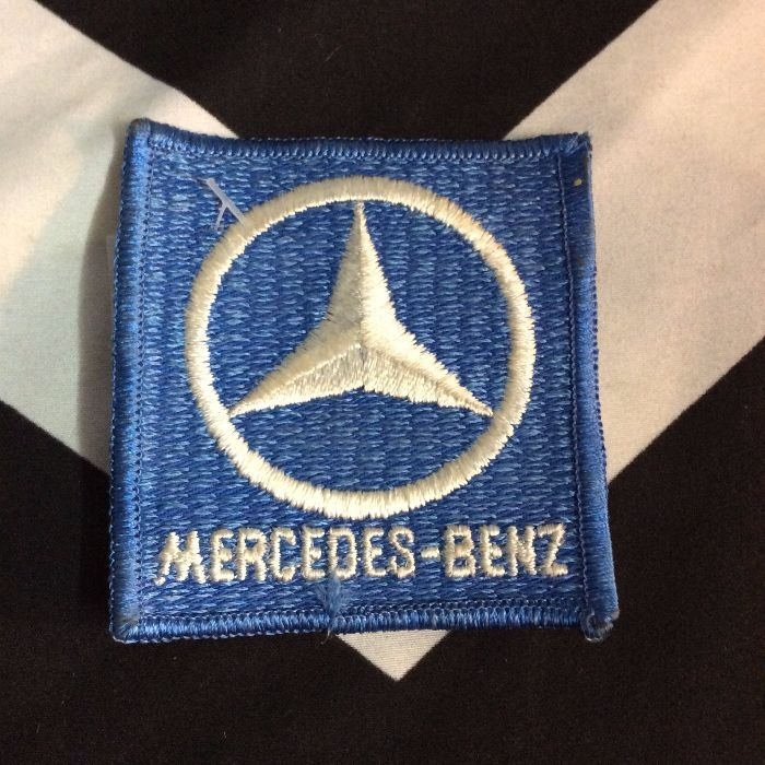 Patch Mercedes Benz Logo Old Stock Boardwalk Vintage