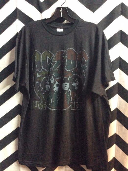 TSHIRT AC DC Live 1