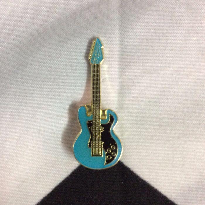 BW PIN- Blue Bass Guitar 1
