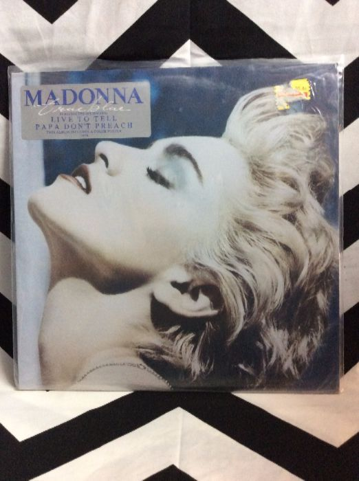 Madonna ?– True Blue *IN Shrink *MINT 1