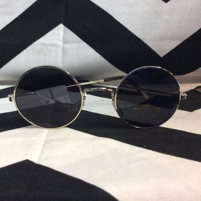 ROUND SUNGLASSES *DEADSTOCK* Made in Taiwan 1