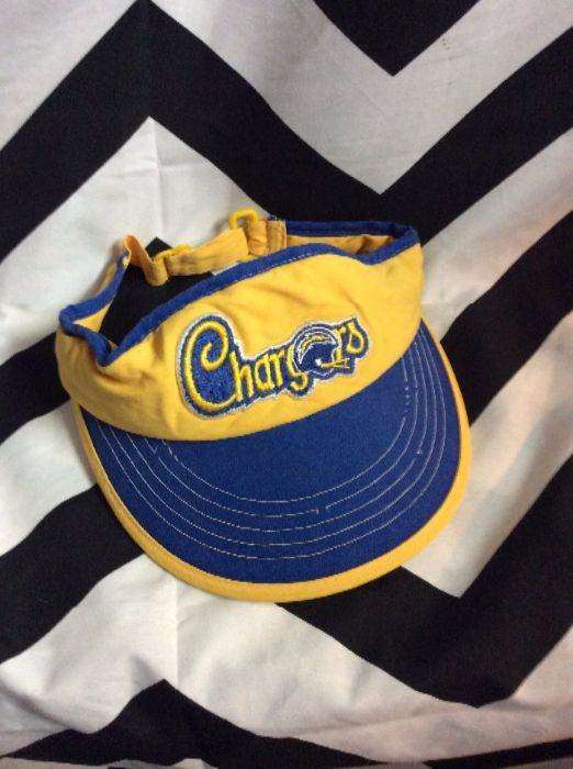 RETRO NFL SAN DIEGO CHARGERS VISOR 1