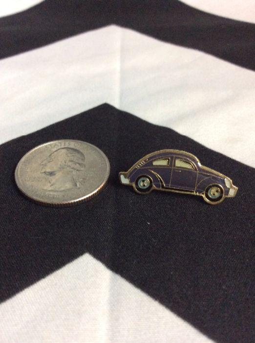 BW PIN- VW Bug Pin Blue 1
