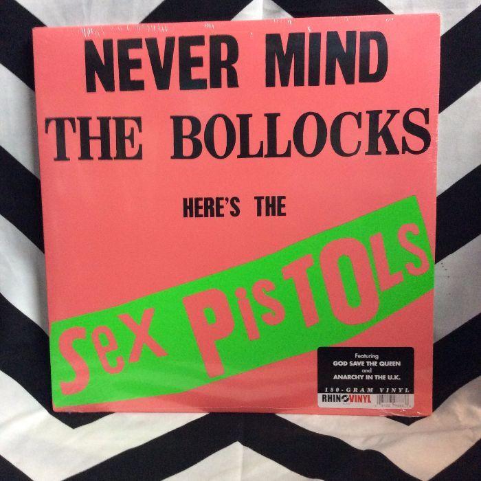 BW VINYL Sex Pistols Never Mind The Bollocks 1