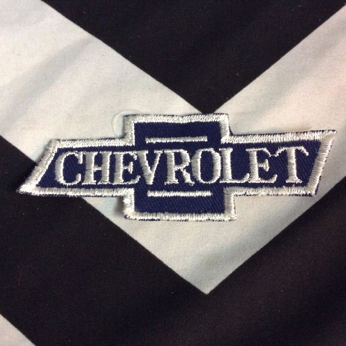 *Deadstock CHEVEROLET EMBLEM PATCH *old stock 1