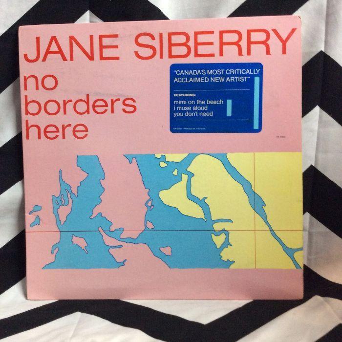 VINYL Jane Siberry ?– No Borders Here 1