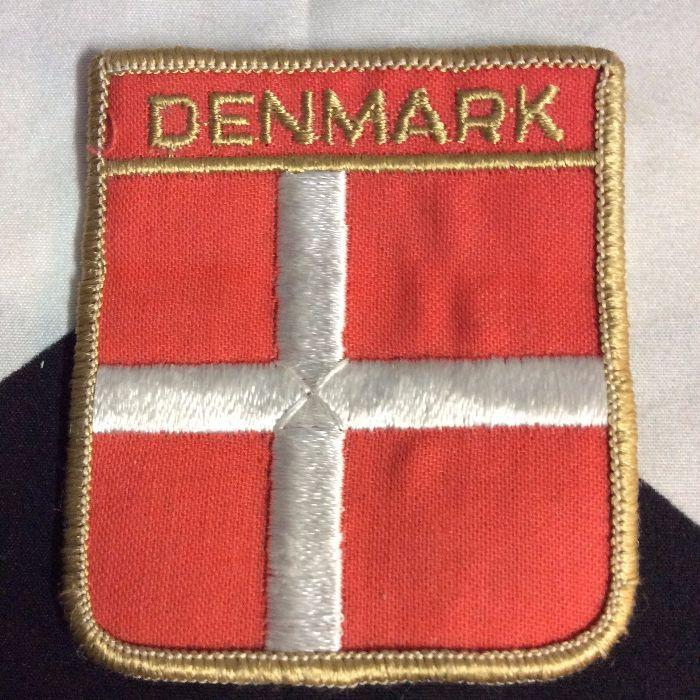 Patch- DENMARK CREST EMBLEM *deadstock *old stock 1