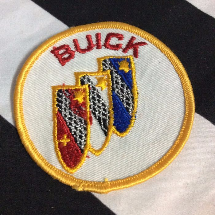Patch- Buick Emblem Retro 1970s *old stock 1