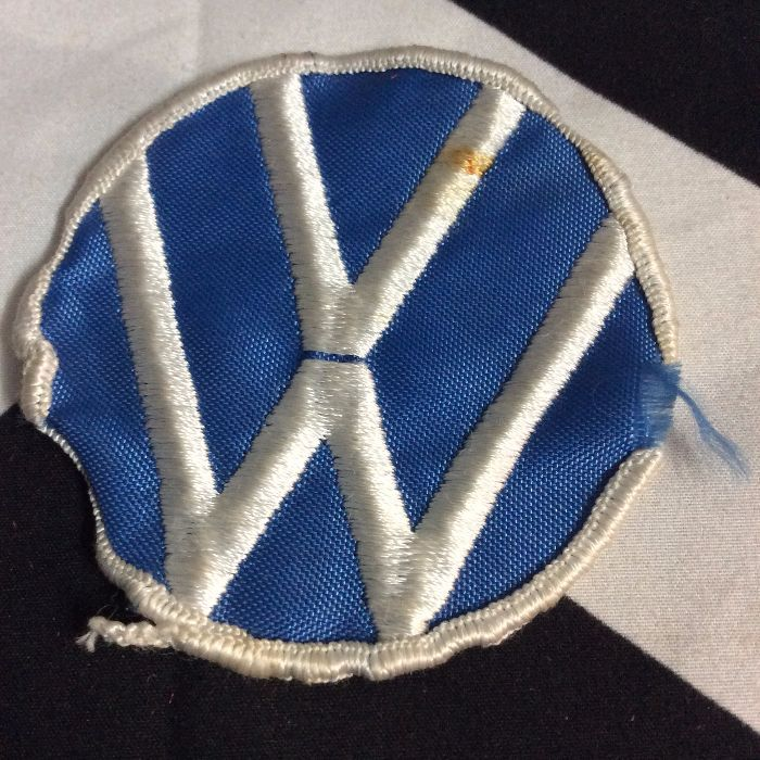 PATCH- VW VOLKSWAGON circle logo *OLD STOCK* 1