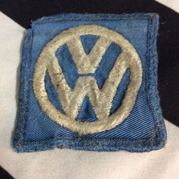 PATCH- VW VOLKSWAGON square logo *OLD STOCK* As-is 1