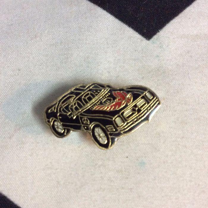 BW PIN- Black Muscle Car Firebird- 114 1