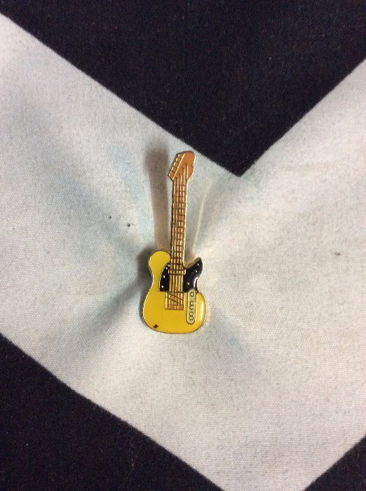 BW PIN- Yellow Guitar- 419 1