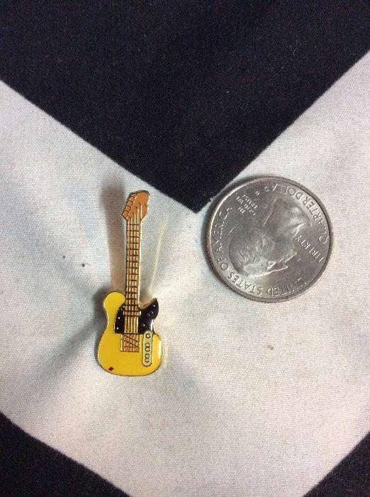 BW PIN- Yellow Guitar- 419 2
