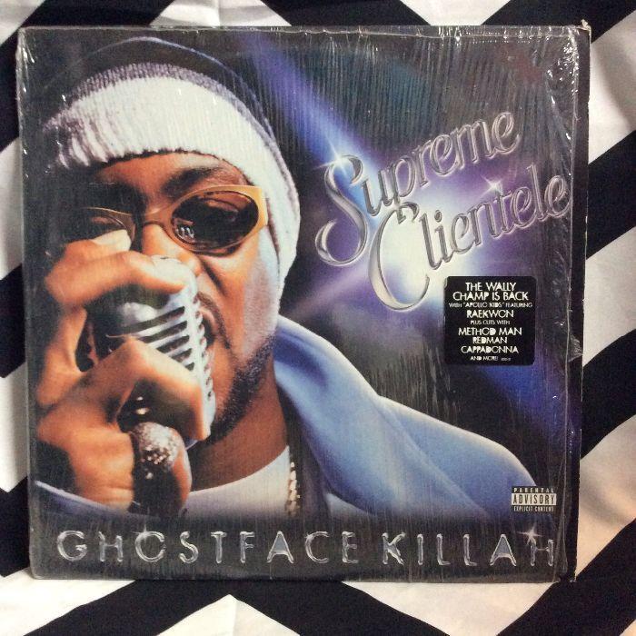 BW VINYL Ghostface Killah Supreme Clientele Album 1