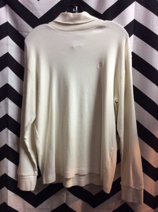 LS PULLOVER TURTLE NECK SHIRT 1