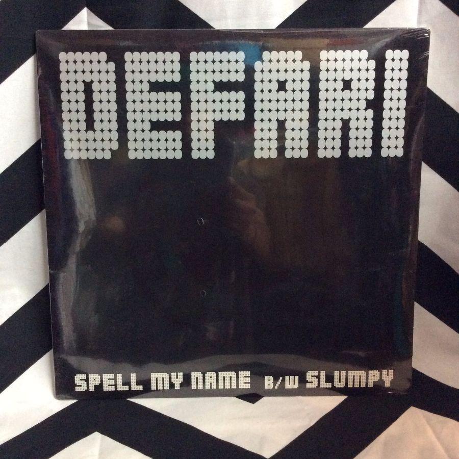DEFARI-SPELL MY NAME-SINGLE-UNOPEN 1