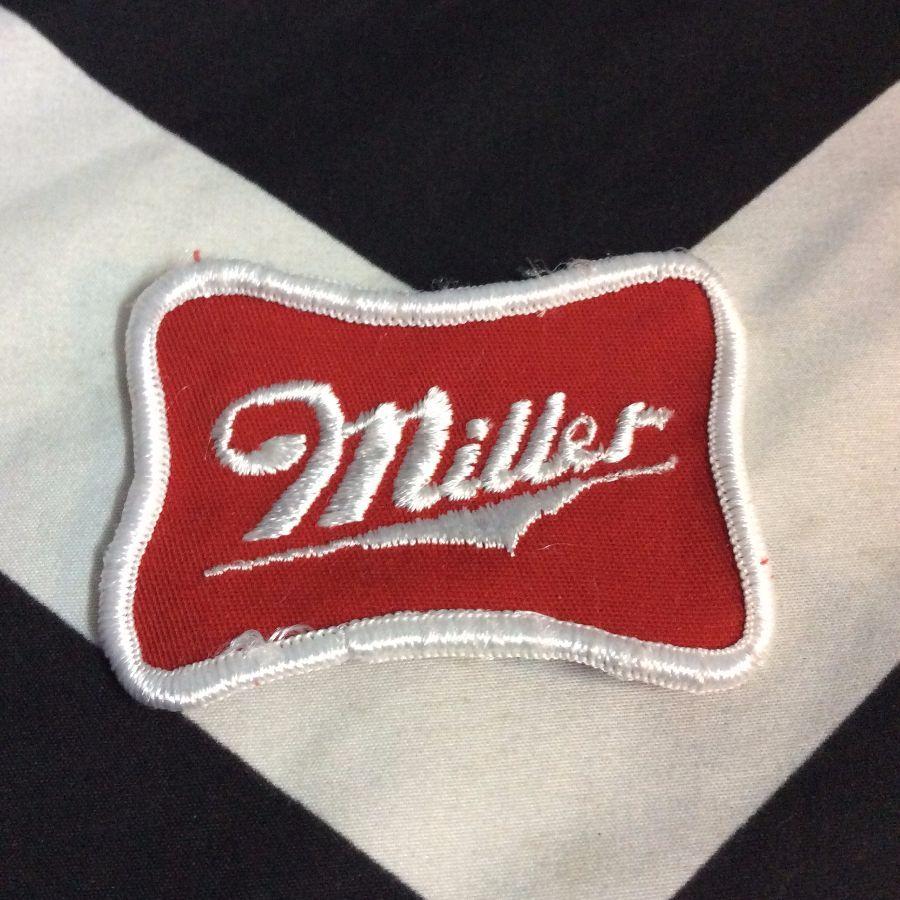 LITTLE MILLER EMBLEM LOGO *old 1970s stock (red white) 2