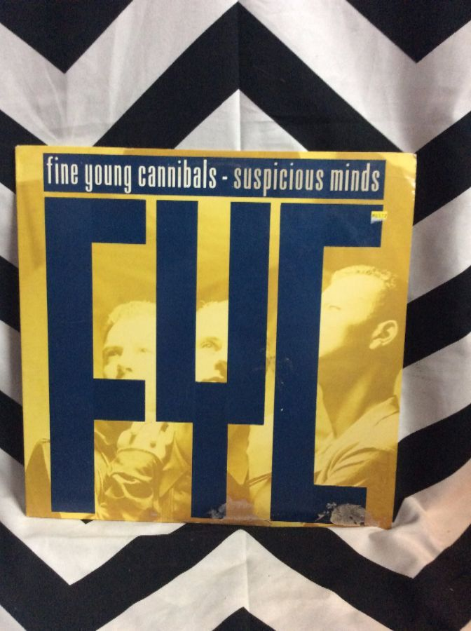 VINYL Fine Young Cannibal Suspicious Minds SINGLE 1