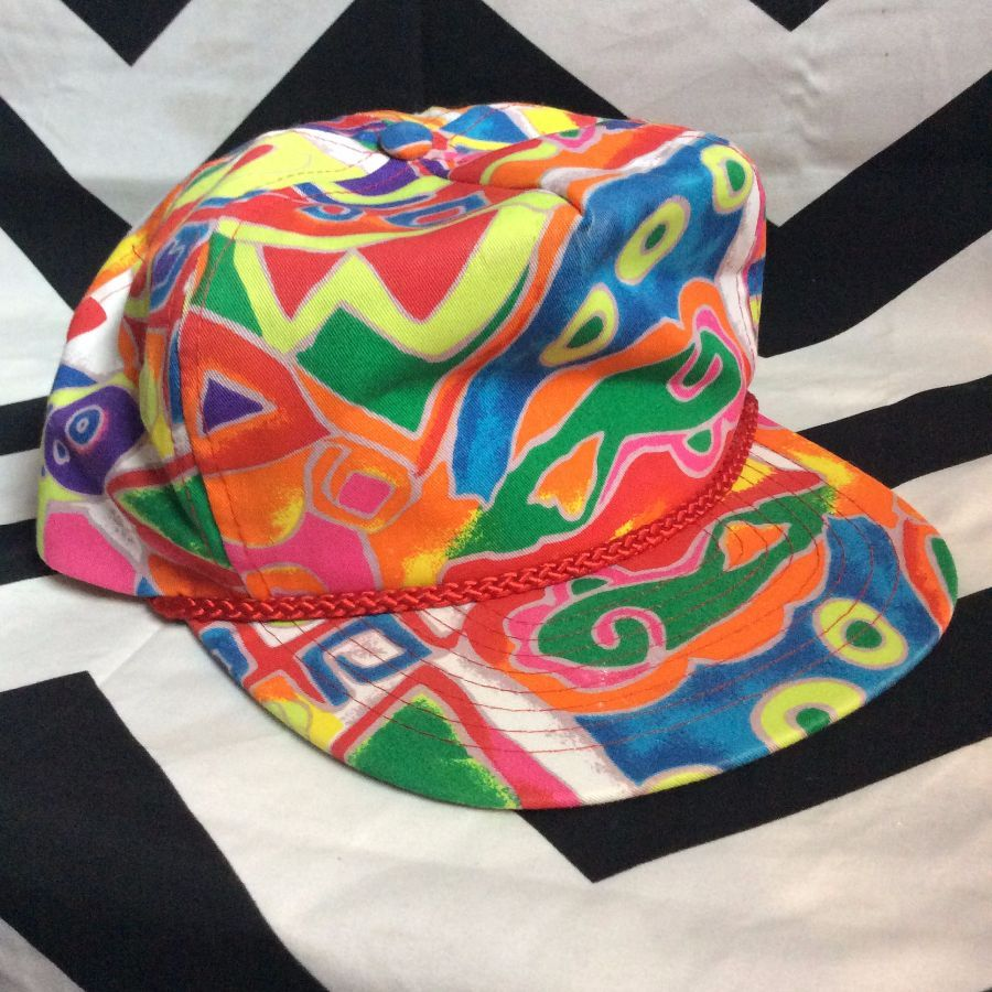 Fresh prince printed Hat deadstock 1