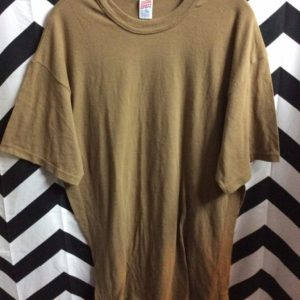 SOFT T SHIRT TOP SOLID BASIC 1