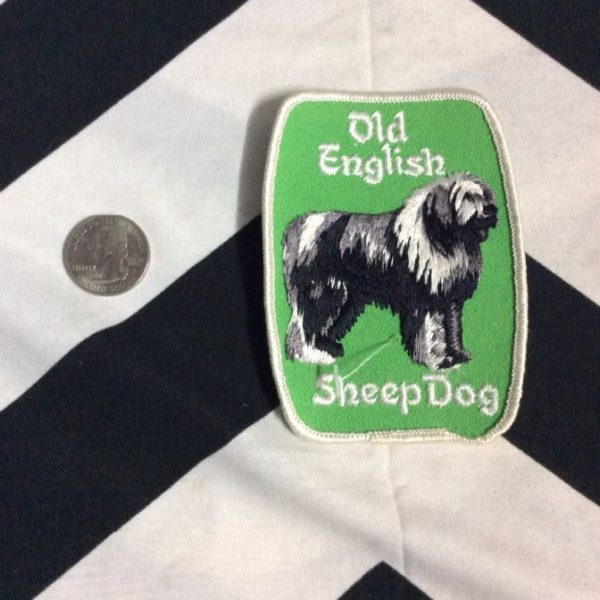 PATCH- OLD ENGLISH SHEEPDOG *OLD STOCK* 3