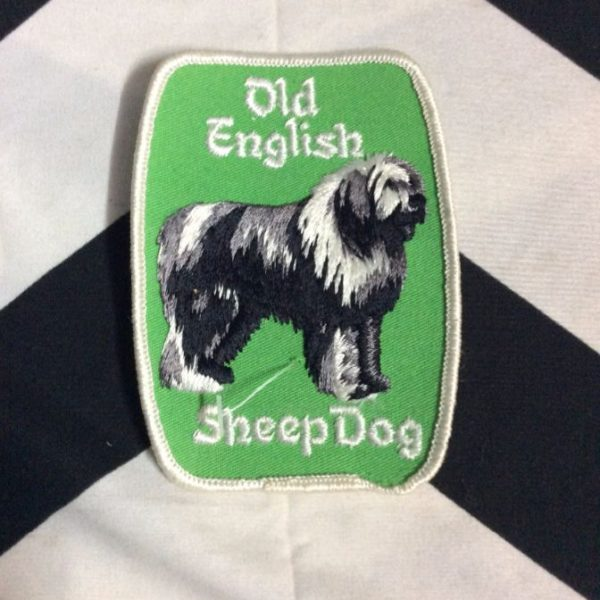 PATCH- OLD ENGLISH SHEEPDOG *OLD STOCK* 1