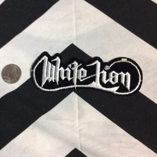 PATCH- WHITE LION *OLD STOCK* 2