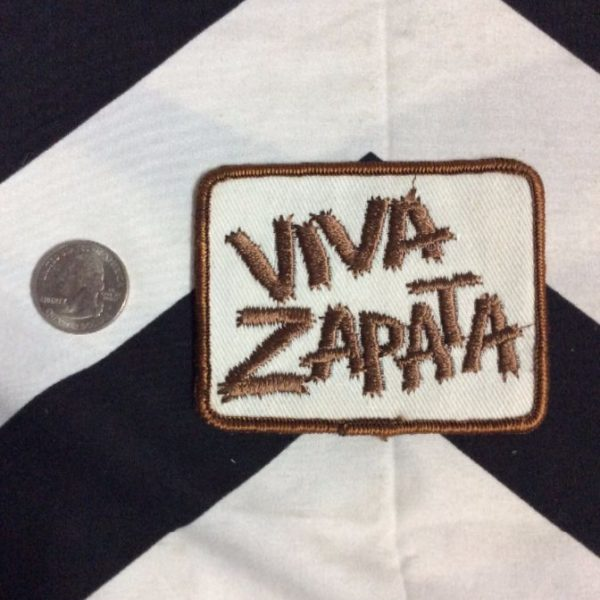 PATCH- VIVA ZAPATA! *OLD STOCK* 2