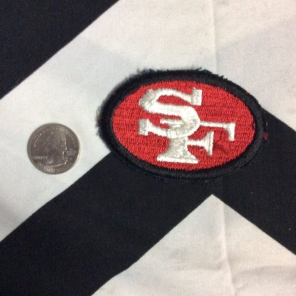 PATCH- SF 49ERS OVAL *OLD STOCK* 2