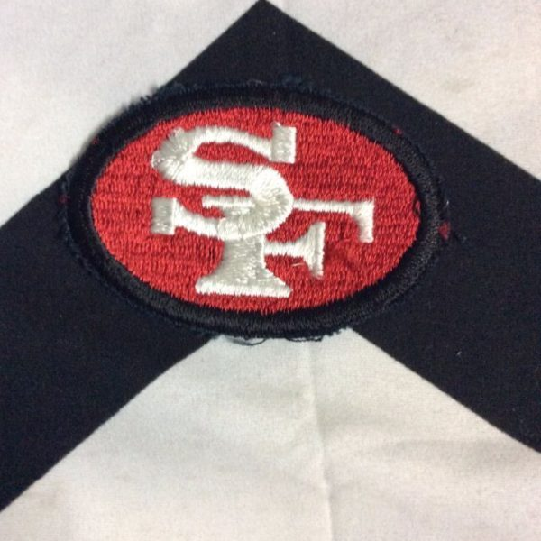 PATCH- SF 49ERS OVAL *OLD STOCK* 1