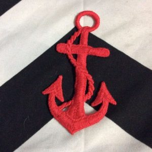 BW PATCH RED NAUTICAL ANCOR 1
