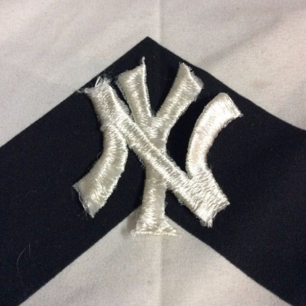 BW PATCH NEW YORK YANKEES LOGO WHITE 1