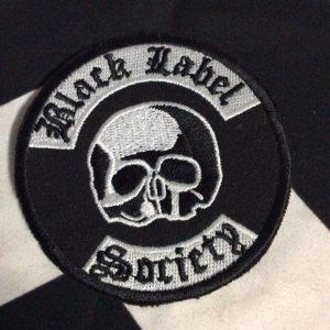 BW PATCH- BLACK LABEL SOCIETY CIRCLE 1