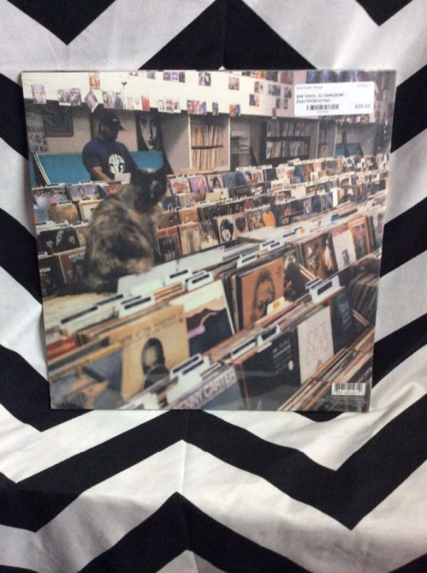 BW VINYL DJ SHADOW - ENDTRODUCING 2
