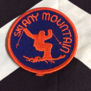 PATCH- SKI ANY MOUNTAIN *OLD STOCK* 1