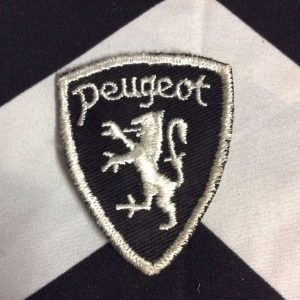 PATCH PEUGEOT BLACK WHITE *deadstock 1