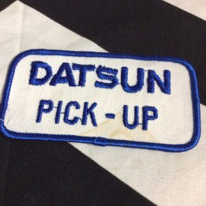 PATCH DATSUN PICK-UP BLUE *deadstock 1