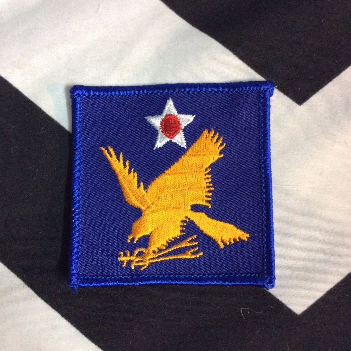 BW Patch- Blue Square Eagle Patch PM-147 1