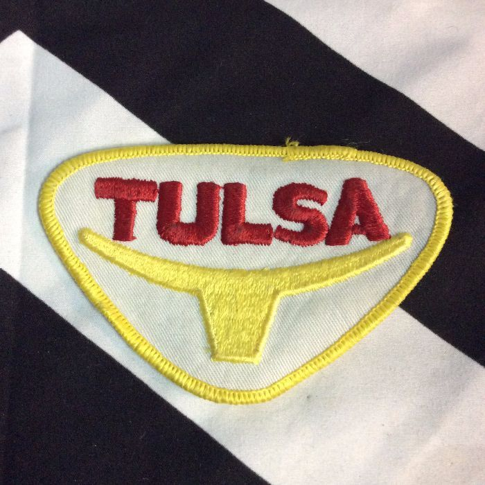 PATCH TULSA RED YELLOW BULL *deadstock 1