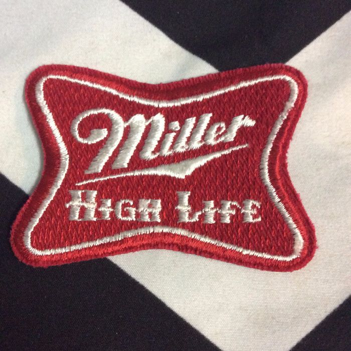 CLASSIC MILLER HIGH LIFE PATCHES - SMALL 1