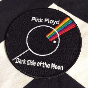 BW PATCH Pink Floyd Dark Side Of The Moon Rainbow 1