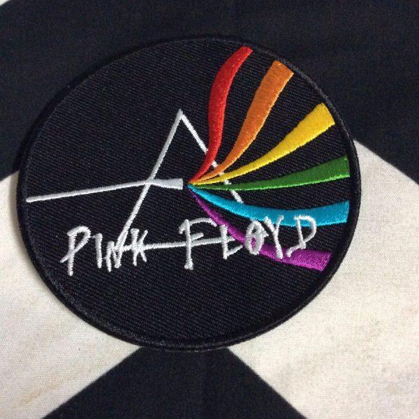 BW PATCH Pink Floyd Pyramid Rainbow 1